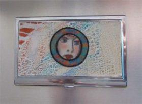 A Tiny Portrait Business Card Holder
