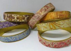 Textured Bangle Patterns