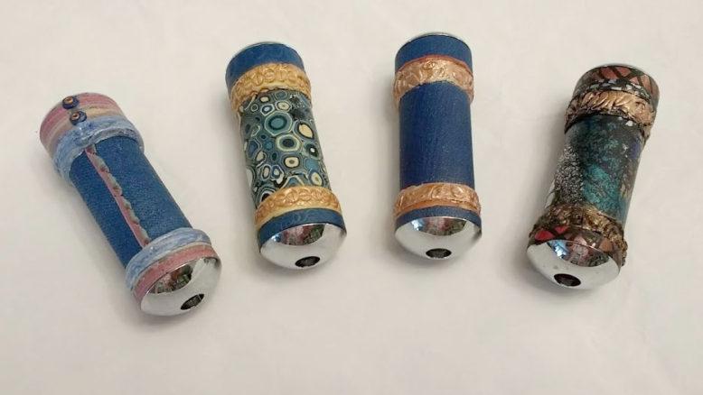 4 mini kaleidoscopes
